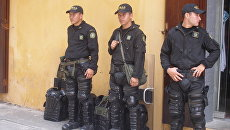 Полиция Колумбия. Архивное фото