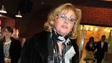 Актриса Наталья Селезнева. Архивное фото