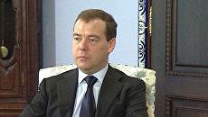 Медведева беспокоит влияние событий в Сирии на Центральную Азию