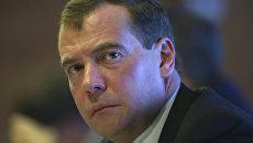 Медведев поручил Газпрому принять меры из-за отбора газа Украиной
