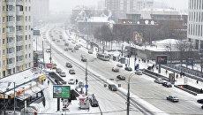 Вид на улицу Большая Якиманка