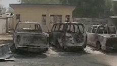 Последствия терактов на севере Нигерии. Видео с мест ЧП