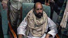 Взятый в плен Сейф Аль-Ислам Каддафи спорит с бойцами ПНС