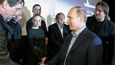 Путин стал первым зрителем фильма Высоцкий. Спасибо, что живой