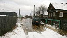 Подтопление жилых домов в Архангельске