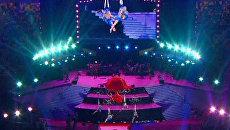 Грандиозным шоу открыли главный стадион ЧЕ-2012 по футболу в Киеве