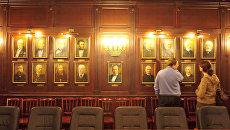 Зал заседаний Ученого совета юридического факультета СПбГУ. Архивное фото