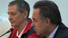 Виталий Мутко посетил тренировочную базу Озеро Круглое