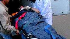 Бортпроводник Александр Сизов, пострадавший во время крушения самолета Як-42 авиакомпании Як Сервис под Ярославлем, доставлен в городскую больницу.