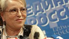 Матвиенко победила на муниципальных выборах в Санкт-Петербурге
