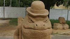 Выставка песчаных скульптур на ВДНХ