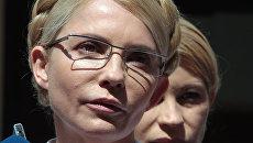 Заседание суда по газовому делу в отношении экс-премьера Украины Юлии Тимошенко. Архив