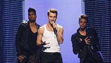Репетиция финала конкурса Евровидения 2011 в Дюссельдорфе