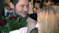 Победителей конкурса Евровидение-2011 на родине встречали танцами