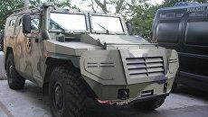 Российский многофункциональный бронеавтомобиль повышенной проходимости ГАЗ-233036 Тигр СПМ-2