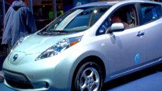 Автомобилем года на выставке в Нью-Йорке объявили электромобиль