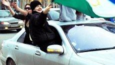 Победа ХК Салават Юлаев на улицах Уфы
