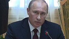 Путин рассказал, что даст Украине вступление в Таможенный союз