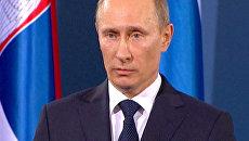 Путин раскритиковал действия международных сил в Ливии