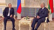 Путин и Лукашенко поговорили о белорусской АЭС последнего поколения
