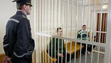 Суд над Иваном Гапоновым и Артемом Бреусом в Минске