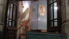 Реставрация храма. Архивное фото