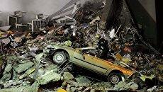 Разбор завалов многоэтажного здания местного телеканала CTV в Крайстчерче