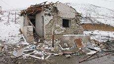 Два взрыва в селе Губден Карабудахкентского района в Дагестане