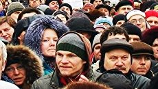 Сотни москвичей вышли на митинг Москва для всех! против ксенофобии