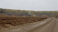 Нулевой цикл строительства новой трассы Москва - Санкт-Петербург