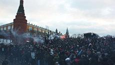 Акция на Манежной площади 11 декабря 2010 года