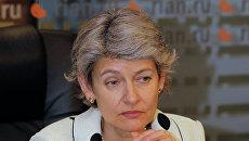 Ирина Бокова. Архивное фото