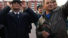 Спасатели показали Путину роботов-пожарных и вертолет-форточник