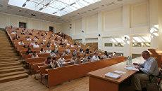 В главном вузе России - МГУ имени М.В.Ломоносова