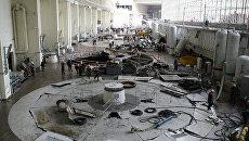 Разбор завалов на Саяно-Шушенской ГЭС
