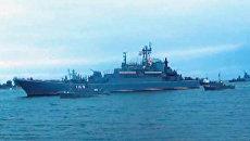 Парад на день Военно-морского флота в Балтийске