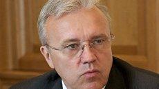 Председатель Законодательного собрания Красноярского края Александр Усс. Архивное фото