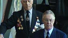 Иностранные ветераны Второй мировой прибыли в Москву на праздник Победы