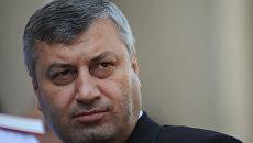 Президент Южной Осетии Эдуард Кокойты. Архив