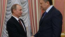 Путин предложил Януковичу создать объединенный ядерный холдинг