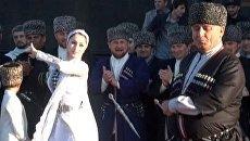 Президент Чечни пустился в пляс в День родного языка