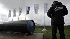 Пуск в эксплуатацию второй ветки газопровода. Архивное фото