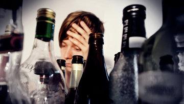 Результат злоупотребления спиртным, архивное фото