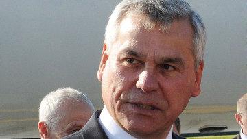 Председатель палаты представителей Национального собрания Республики Беларусь Владимир Андрейченко. Архивное фото
