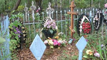 Кладбище в Костроме, где нашли биоотходы
