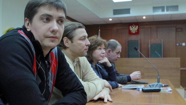 Оглашение приговора бывшему сотруднику СК РФ Андрею Гривцову. Архивное фото