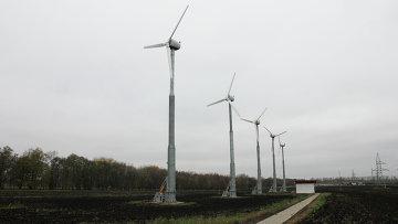 Ветротурбинные генераторы в Крапивенских дворах,  Белгородская область