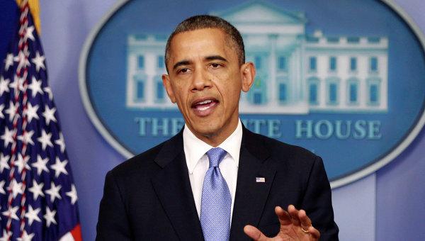 Президент США Барак Обама обратился к жителям штатов, находящихся на пути урагана Сэнди
