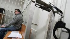 Николай Кавказский, обвиняемый в участии в беспорядках на Болотной площади.
