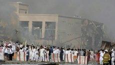 Взрыв газа в Эр-Рияде, Саудовская Аравия